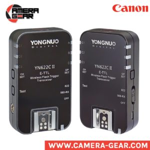 Yongnuo YN622C II flash radio triggers, 2nd upgraded version