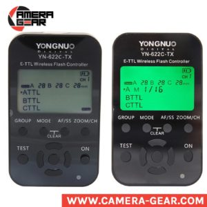 Yongnuo YN622C-TX transmitter acts as a master control unit for the very popular YN622C (II) E-TTL and Manual transceivers, providing more functions and a far more user friendly built-in LCD user interface. With this YN622C-TX flash commander Yongnuo has managed to make the 622 trigger system even more versatile. The YN622 triggers were already known for their excellent performance and great price, and now, with the release of separate YN622C-TX commander this YN622 system is among the best you can buy.