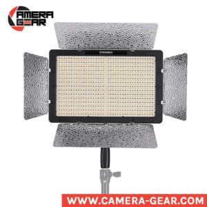 Yongnuo YN1200 3200-5500K is a professional LED light for both photo and video work. It features 1200 LED beads with extra-large luminous area. This is the best and most powerful bi-color LED product from Yongnuo and one of the best on the market.
