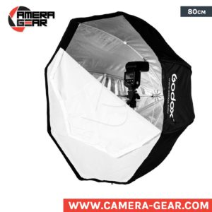 Godox 80cm Octagon umbrella softbox with grid. softbox light modifier with honeycomb grid