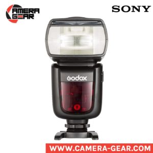 Godox V860II-S Ving li-ion powered speedlite flash with, ttl, hss and built-in trigger.