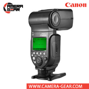 Yongnuo YN968C is a wireless flash speedlite for Canon DSLR cameras. The YN968C is a high-end flash speedlite that is compatible with Yongnuo YN622 radio system.Yongnuo YN968C speedlite flash supports E-TTL / E-TTL II metering. It features a powerful guide number of 60m (ISO 100, 105mm) as well as an long zoom range of 20-105mm, along with a wide-angle diffuser for 14mm coverage on full-frame cameras. Bounce lighting is also possible with tilt from -7 to 150° and rotation left and right 180°.