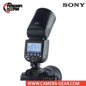 Godox V1 for Sony is very much anticipated Lithium-ion powered Round Head TTL Speedlight. We must say that it is probably the best flash speedlight on the market. This is a significant jump from the V860II-Sin terms of beam pattern, modifier coverage, usability, and TTL reliability