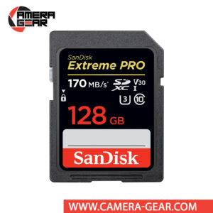 SanDisk 128GB Extreme PRO UHS-I SDXC Memory Card is the most powerful SD UHS-I memory card yet delivers performance that elevates your creativity