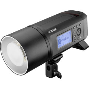 Godox AD600 Pro Witstro is a 600W lithium-ion powered TTL and HSS enabled portable flash strobe light.  AD600 Pro is a versatile tool compatible with several TTL systems including Canon, Nikon, Sony, Fujifilm, Olympus, Pentax and Panasonic options