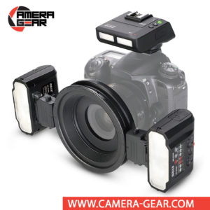Meike MK-MT24 for Nikon is a high-value flash setup that can be used for macro and other flash photography. The Meike MK-MT24 Macro Twin Flash kit is a wireless macro flash kit, designed for macro photography