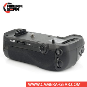 Battery Grip for Nikon D850, Meike MK-D850 Pro is a must have for Nikon D850 enthusiasts. This battery grip from Meike gives you extended shooting time plus increased comfort and balance as you snap photos. It attaches to the bottom of your D850, providing a convenient grip when holding the camera in the vertical position