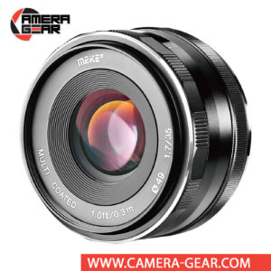 Meike 35mm f/1.7 Lens for Fujifilm X Mount Cameras is an extremely versatile lens that features bright f/1.7 maximum aperture to suit working in low-light conditions and for achieving shallow depth of field effects. Meike MK-35mm lens is a great choice for videography, portraiture, street photography, wedding and event photography and much more.
