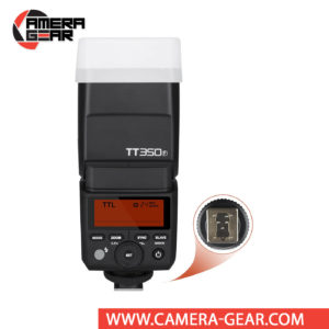 Godox TT350F is an excellent compact size flash unit for Fujifilm cameras that provides TTL, HSS and full 2.4GHz Godox X System radio Master and Slave modes built inside. It is a perfect on-camera flash for any camera system and especially mirrorless systems