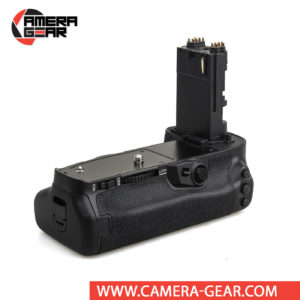 Battery Grip for Canon 5D Mark IV Meike MK-5D4 offers both extended battery life and a more comfortable grip when shooting in the vertical orientation. The grip accepts two LP-E6 / LP-E6N batteries to effectively double the battery life for long shooting sessions.