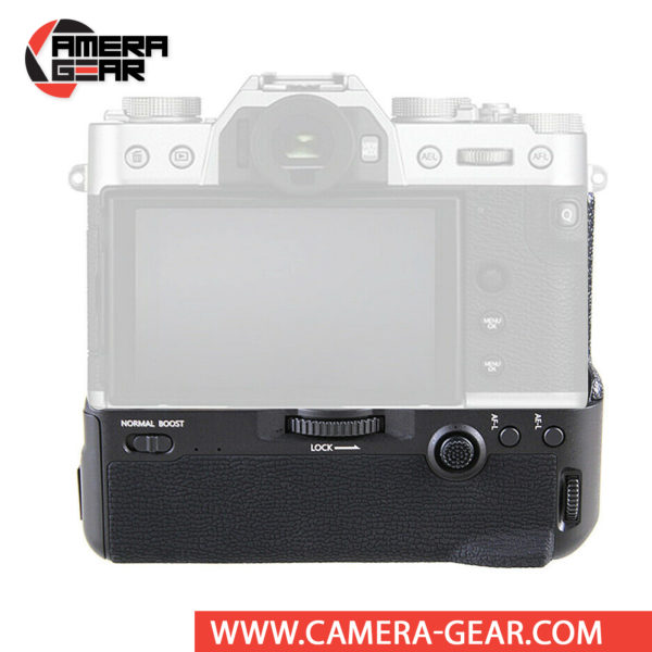 Battery Grip for Fuji X-T3, Meike MK-XT3 Pro offers both extended battery life and a more comfortable grip when shooting in the vertical orientation. The grip accepts two NP-W126 batteries to effectively double the battery life for long shooting sessions. Wireless remote control included