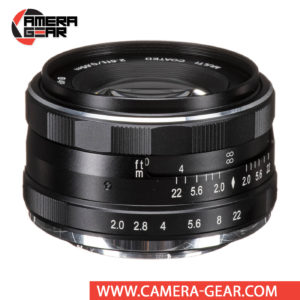 Meike 50mm f/2 Lens for Fuji X Mount Cameras is an extremely versatile lens that features bright f/2 maximum aperture to suit working with selective focus techniques as well as in difficult lighting conditions. It is a compact, lightweight, manual focus lens suitable for videography, portraiture, street photography, wedding and event photography and much more.