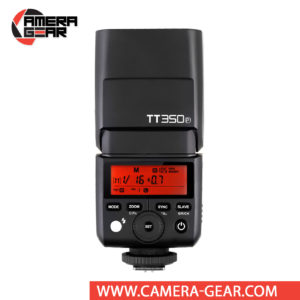 Godox TT350P is an excellent compact size flash unit for Pentax cameras that provides TTL, HSS and full 2.4GHz Godox X System radio Master and Slave modes built inside