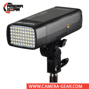 Godox AD-L LED Head fits Godox AD200 and AD200 Pro pocket flashes. Its enables users to swap the speedlight or bare-bulb head out for an LED unit with 60 LED bulbs that output 3.6W, making it ideal for use as a lamp when necessary.