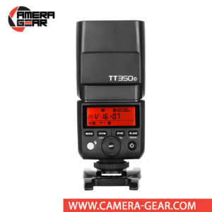 Godox TT350C is an excellent compact size flash unit for Canon DSLR and Mirrorless cameras that provides TTL, HSS and full 2.4GHz Godox X System radio Master and Slave modes built inside