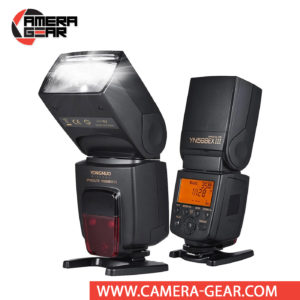 Yongnuo YN568EX III Speedlite for Nikon Cameras is a great choice for both professional or advanced amateur Nikon shooters. It is features rich, supporting e-TTL (II), HSS, 2nd curtain sync, wireless master and optical slave modes, auto and manual zoom, flash exposure compensation, flash exposure bracketing