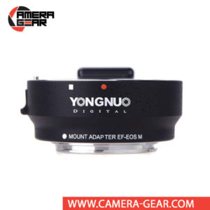 Yongnuo EF-EOS M Lens Adapter for Canon EF/EF-S Lens to Canon EOS M Camera lets you mount EF or EF-S lens for DSLR camera to EOS-M mirorrless camera. It supports both phase and contrast detection autofocus and Canon Image Stabilization as well.