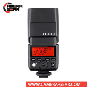 Godox TT350S is an excellent compact size flash unit that provides TTL, HSS and full 2.4GHz Godox X System radio Master and Slave modes built inside. It is a perfect on-camera flash for any camera system and especially mirrorless systems