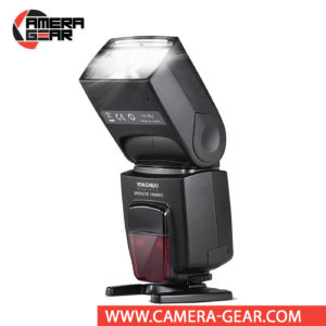 Yongnuo YN585EX Speedlite for Pentax Cameras offers full P-TTL support, including rear curtain sync and red eye reduction. YN585EX offers a powerful guide number of 58m at ISO 100 and 105mm as well as a zoom head with coverage for lenses of 20-105mm. Also, it has a wide-angle diffusion panel that expands the beam to work with 14mm lenses. Along with these capabilities, the YN585EX can tilt from -7 to 90° and can rotate both left and right 180°.