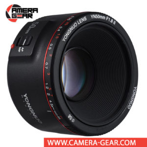 Yongnuo YN 50mm f/1.8 II Lens for Canon EF mount cameras is an excellent choice for every Canon shooter. YN50mm is one of the most affordable 50mm lenses on the market. It covers full-frame sensors and pairs a maximum aperture of f/1.8 with a minimum focusing distance of 35cm, allowing you to easily achieve selective focus and bokeh in your pictures. Plus, a seven-blade diaphragm design can give you a 14-point star effect when shooting bright light sources at smaller apertures.