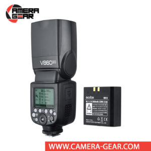 Godox V860II-O is a fully-featured TTL flashgun, much like the TT685O with a difference that the V860II-O is powered by an impressive Lithium-ion battery, capable of providing up to 650 full power flashes, and 1.5 second full power recycle time