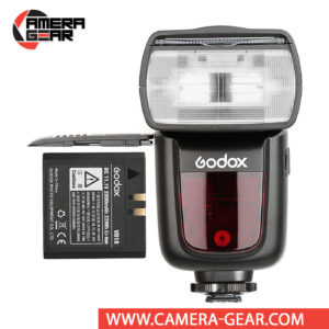 Godox V860II-F is a fully-featured TTL flashgun, much like the TT685F with a difference that the V860II-F is powered by an impressive Lithium-ion battery, capable of providing up to 650 full power flashes, and 1.5 second full power recycle time.