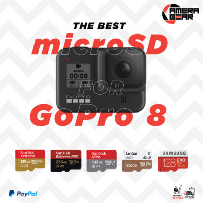 The Best microSD for GoPro 8 Cameras