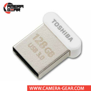 Toshiba 128GB U364 USB 3.0 Flash Drive is the smallest Toshiba USB of all. It is an extremely small USB Flash drive with sizable storage and speedy performance, suitable for just about anyone.