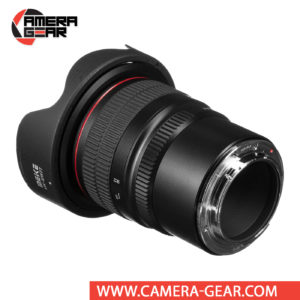Meike 8mm f/3.5 Fisheye Lens for Canon EF-M Mount Cameras provides a surreal field of view with strong distortion and curved horizons to yield a unique effect. The optical properties of this lens are good enough to capture the world from a different angle.