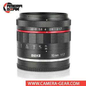 Meike 50mm f/1.7 Lens for Sony E Mount Cameras is a fully manual full frame lens for Sony E mount cameras. It is a beautifully built little lens, with all metal construction and bright f/1.7 maximum aperture to suit working with selective focus techniques as well as in difficult lighting conditions.