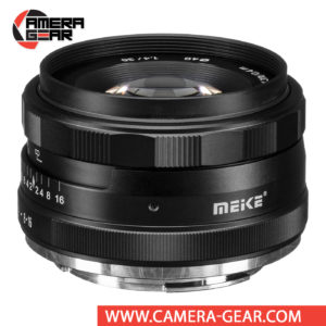 Meike 35mm f/1.4 Lens for Canon EF-M Mount Cameras is an extremely versatile lens that features bright f/1.4 maximum aperture to suit working in low-light conditions and for achieving shallow depth of field effects. Meike MK-35mm lens is a great choice for videography, portraiture, street photography, wedding and event photography etc.