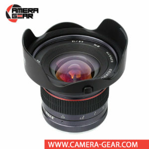 Meike 12mm f/2.8 Lens for Sony E Mount Cameras is a manual focusing wide-angle lens designed for APS-C mirrorless cameras. The lens features a bright f/2.8 maximum aperture to balance low-light performance with a compact form factor.