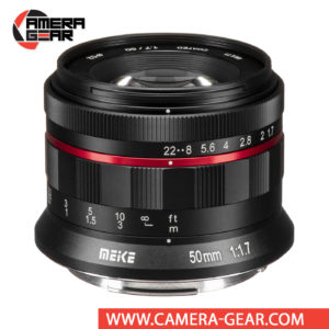 Meike 50mm f/1.7 Lens for Canon RF Mount Cameras is a fully manual full frame lens for Canon RF mount cameras. It is a beautifully built little lens, with all metal construction and bright f/1.7 maximum aperture to suit working with selective focus techniques as well as in difficult lighting conditions.