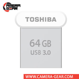 Toshiba 64GB U364 USB 3.0 Flash Drive is the smallest Toshiba USB of all. It is an extremely small USB Flash drive with sizable storage and speedy performance, suitable for just about anyone.