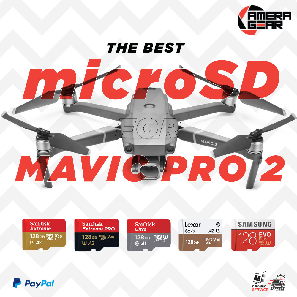 The best MicroSD cards for Mavic 2 PRO